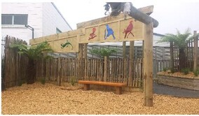 A local Morrinsville playground which the Trust assisted with